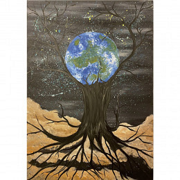 Lassen Sie uns die Erde schützen